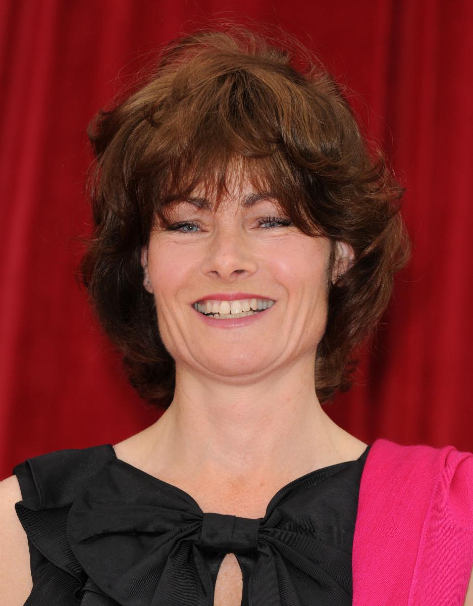 Janet Dibley British Soap Awards 2012 - credit SplashNews.com