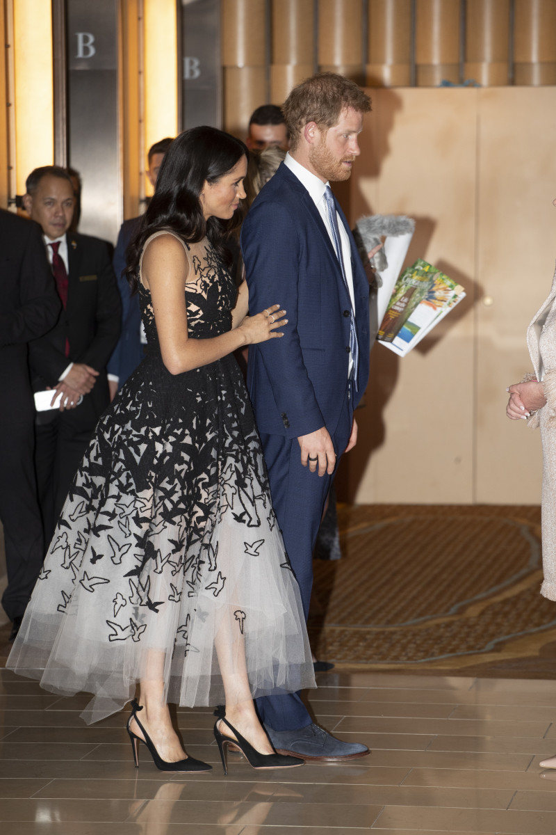 Prince Harry, the Duke of Sussex and Meghan, the Duchess of Sussex attend the Australian Geographic Society Awards in Sydney