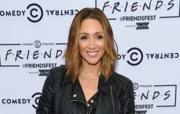 Lucy-Jo Hudson at the Friend Fest at Heaton Park in Manchester