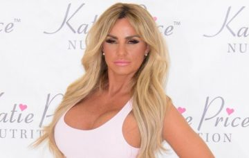 Katie Price promotes her nutrition launch in London