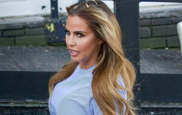 Katie Price Seen Leaving The ITV Studios After Loose Women
