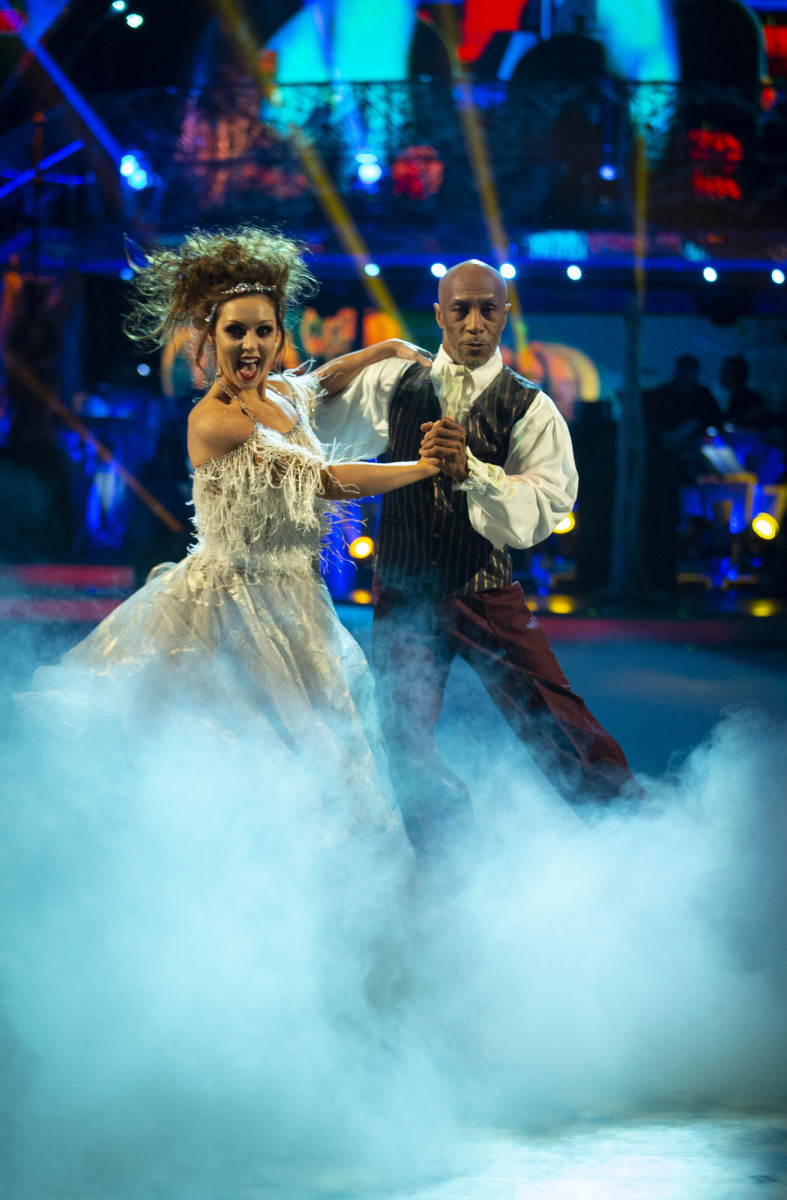Amy Dowden and Danny John-Jules, Strictly Come Dancing 2018