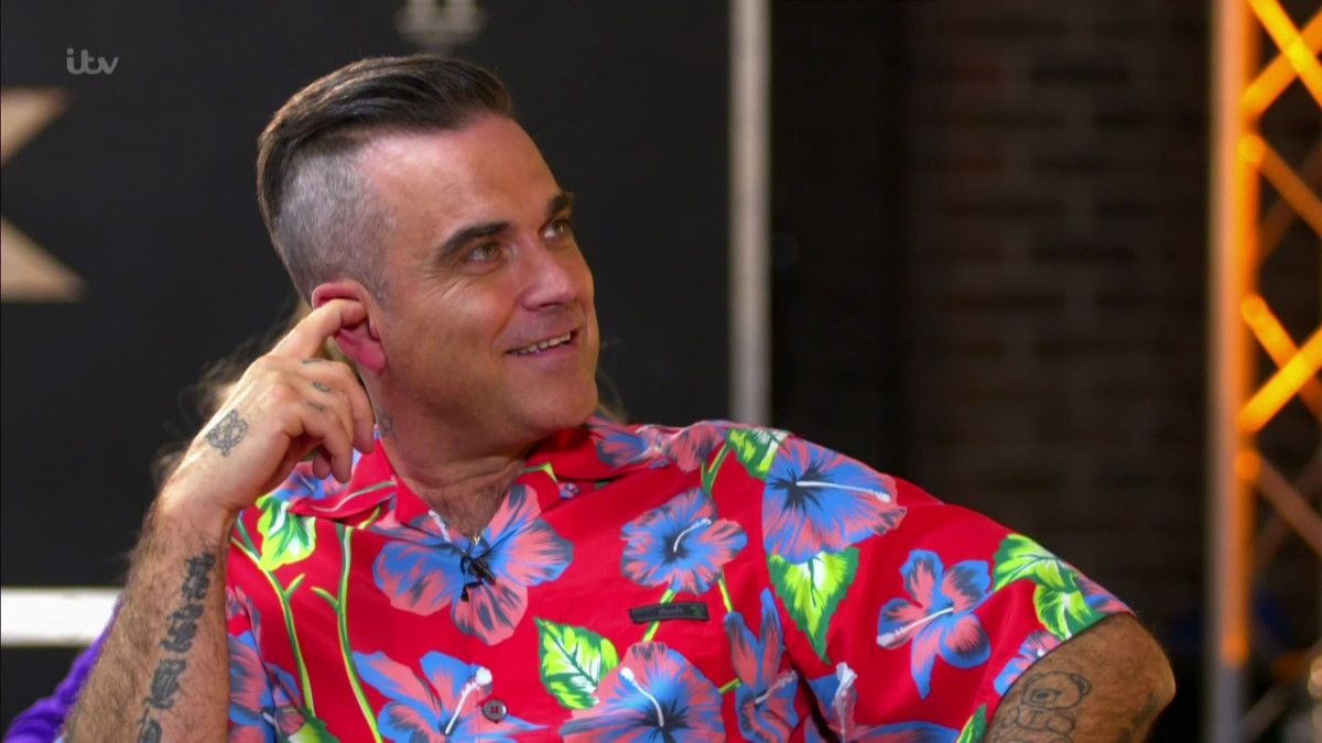 Robbie Williams drops hint about his future on X Factor after 'format changes'