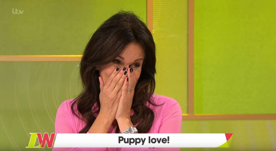 Andrea McLean breaks down in tears over death of her dog Jackson