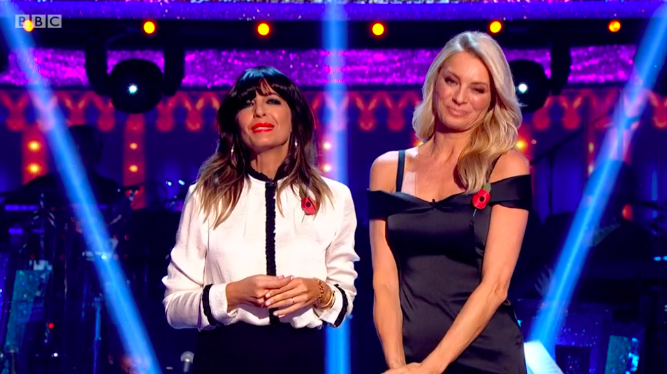 Tess and Claudia leave viewers cringing on Strictly