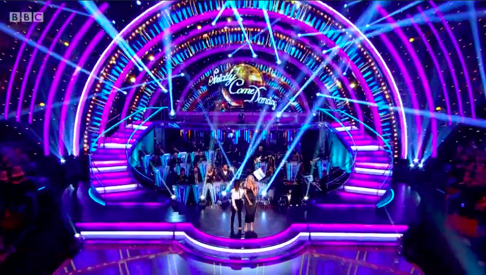 strictly tess daly claudia winkleman