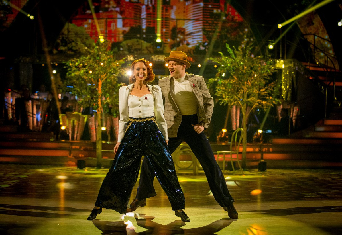 Stacey Dooley and Kevin Clifton on Strictly
