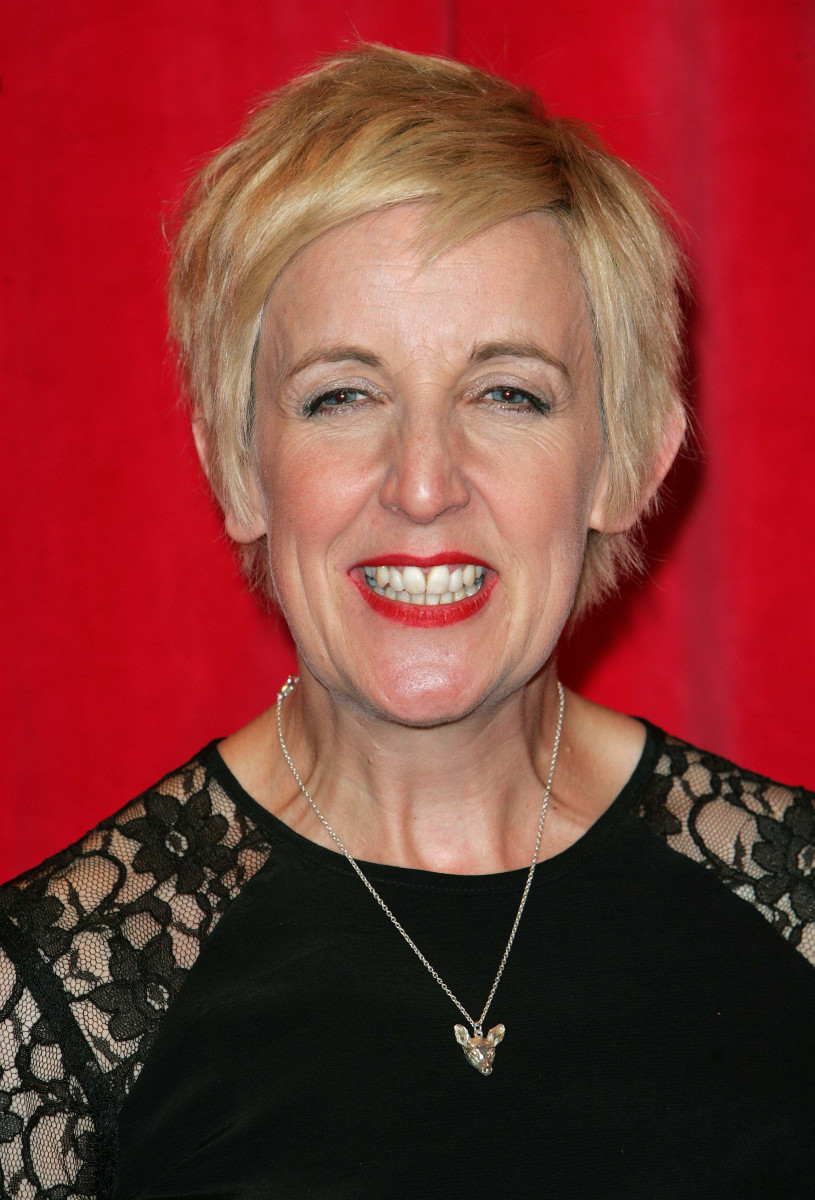 Julie Hesmondhalgh at The British Soap Awards 2014