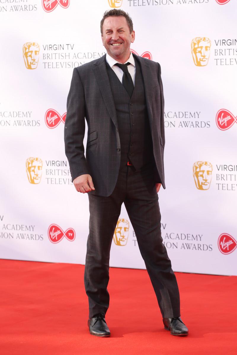Lee Mack at the Virgin TV British Academy