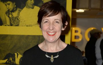 Julie Hesmondhalgh at the Home Manchester for the Manchester Theatre Awards 2017