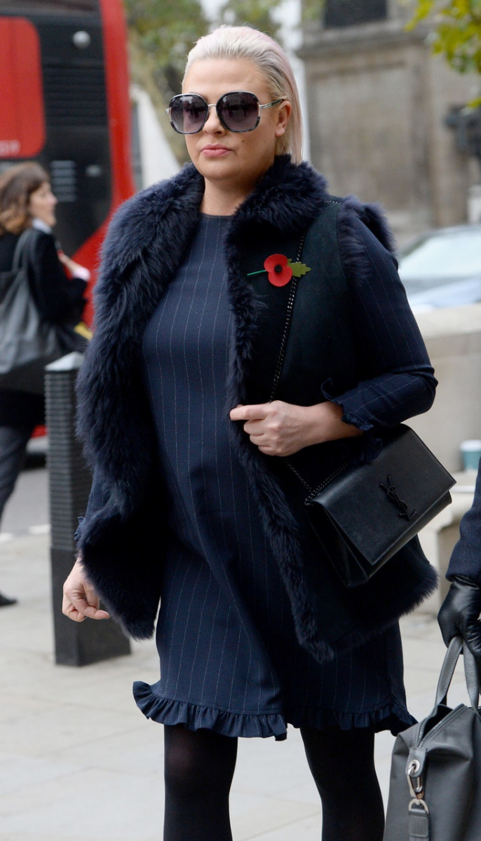 Lisa Armstrong arrives at the Royal Courts of Justice (Kirsty O'Connor/PA)