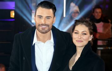 Rylan Clark-Neal and Emma Willis at the 'Celebrity Big Brother' 2016 2nd Live Eviction