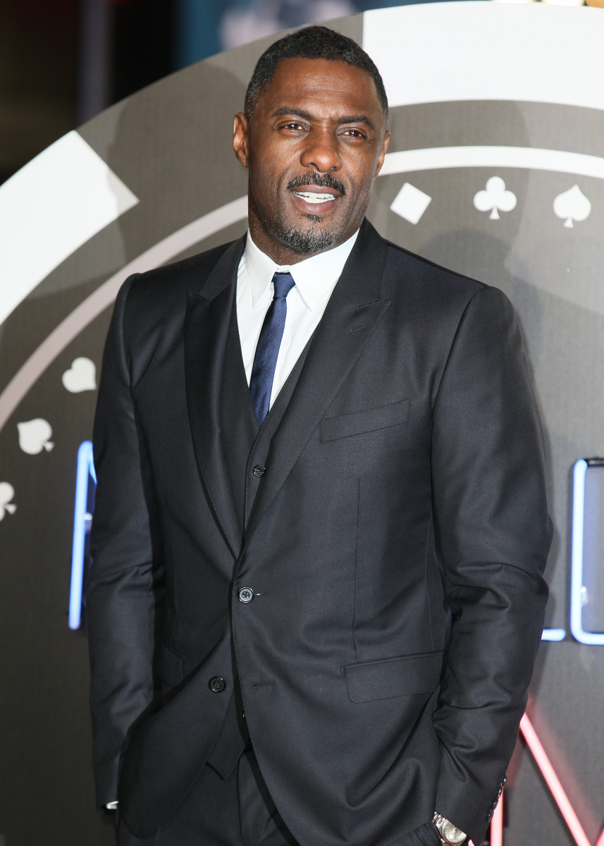 Idris Elba at the The UK Premiere of 'Molly's Game' held at the Vue West End
