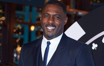 Idris Elba attends the UK Premiere of Molly's Game at the VUE Cinema