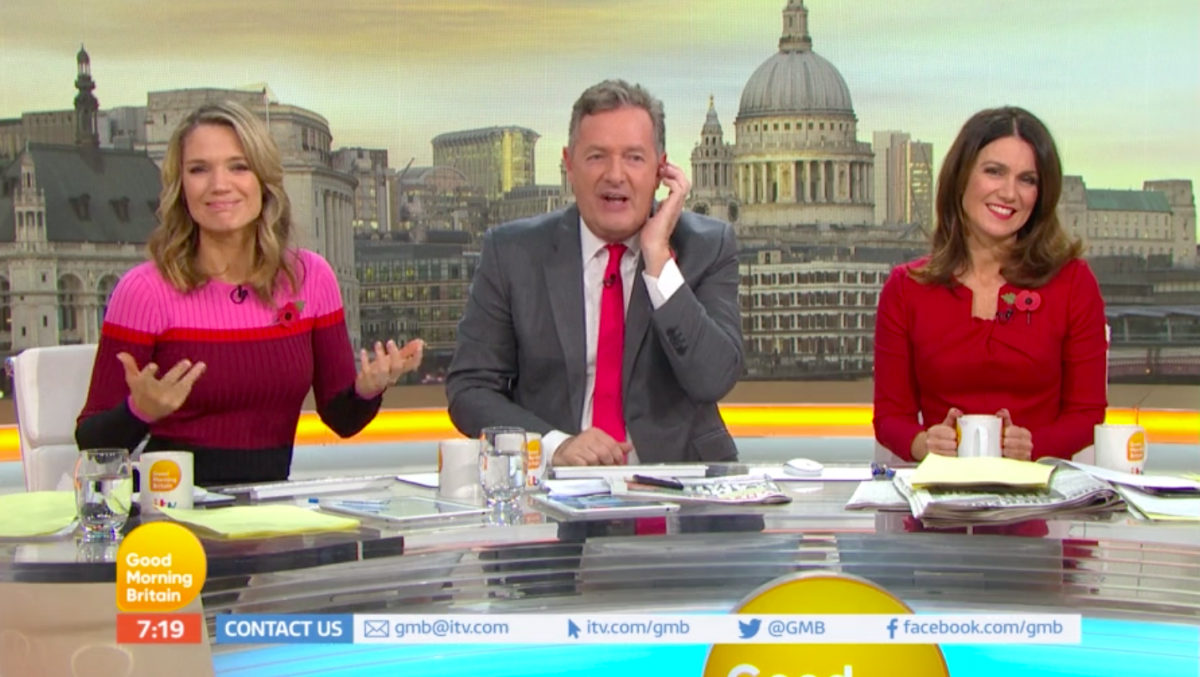 "Piers Morgan tells GMB bosses to ""stick it!"""