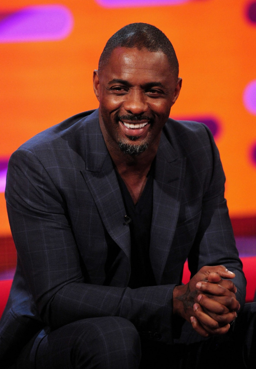 Idris Elba during the filming of the Graham Norton Show at The London Studios, south London, to be aired on BBC One on Friday evening (Ian West/PA)