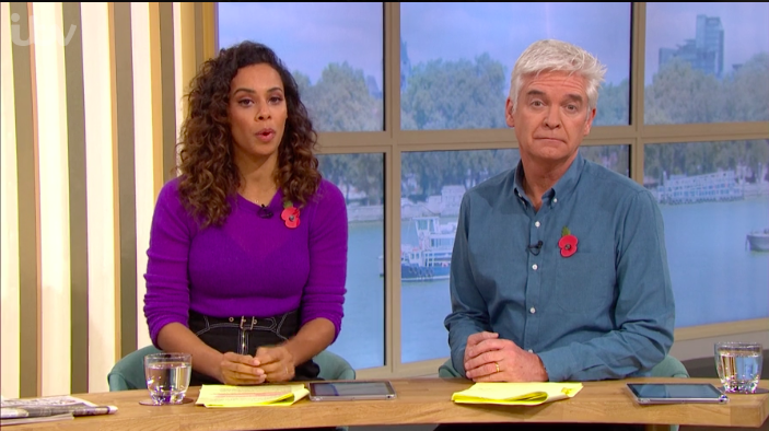 this morning rochelle phillip schofield