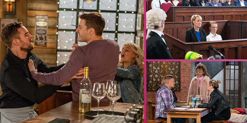 FIRST LOOK: Next week's Corrie in 10 pictures