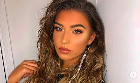 Love Island star shows off results of cosmetic surgery on her lop-sided chin!