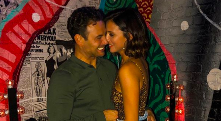 Ryan Thomas and Lucy Meck caught on camera bickering