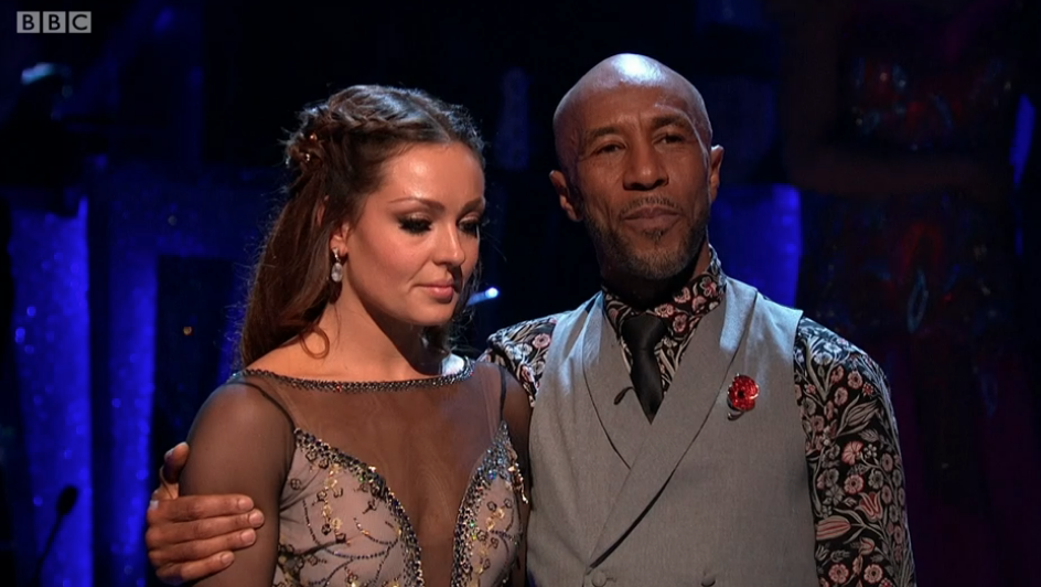 Danny John-Jules and Amy Dowden, Strictly Come Dancing