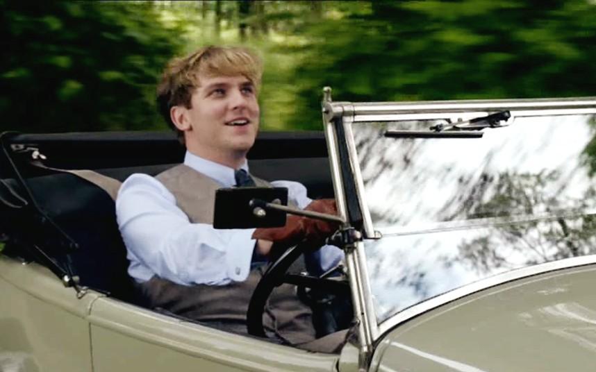 Downton Abbey Matthew Crawley accident
