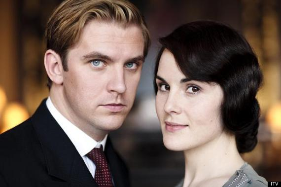DOWNTON ABBEY Matthew and Lady Mary