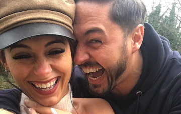 Becky Miesner and Mario Falcone instagram