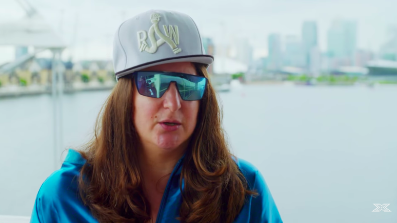 757396860344 Honey G has rarely been seen without those sunnies (credit  ITV)
