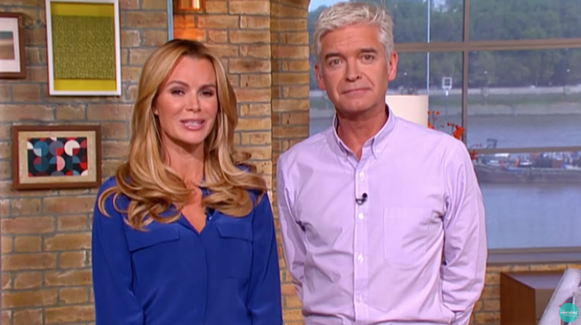 Amanda Holden reportedly confronted Phillip Schofield over This Morning 'axe'