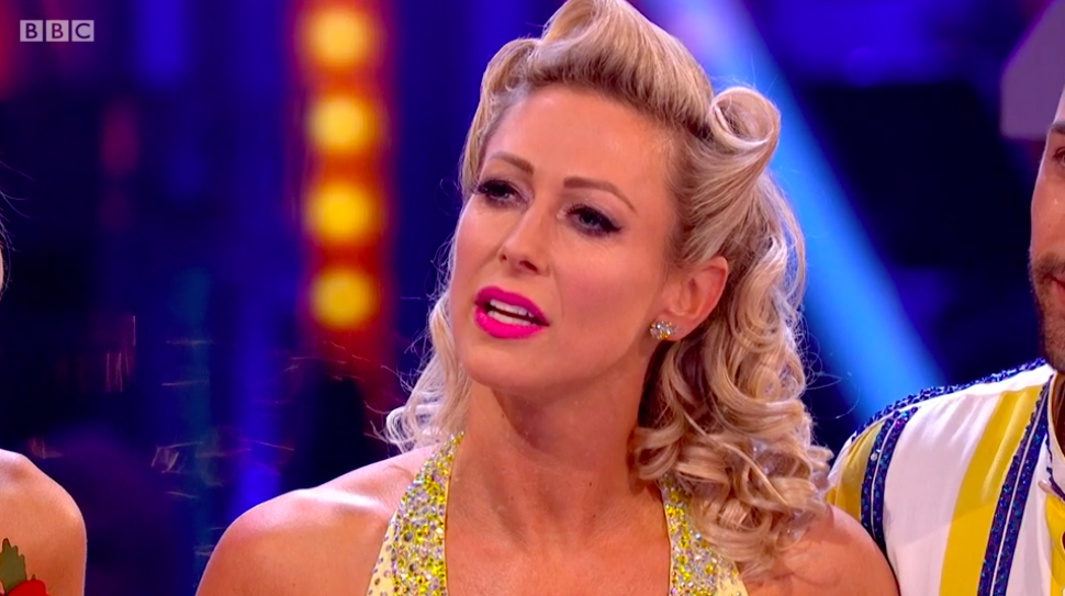Faye Tozer reveals incredible body transformation after Strictly Come Dancing