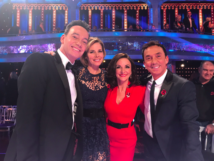 shirley ballas strictly judges