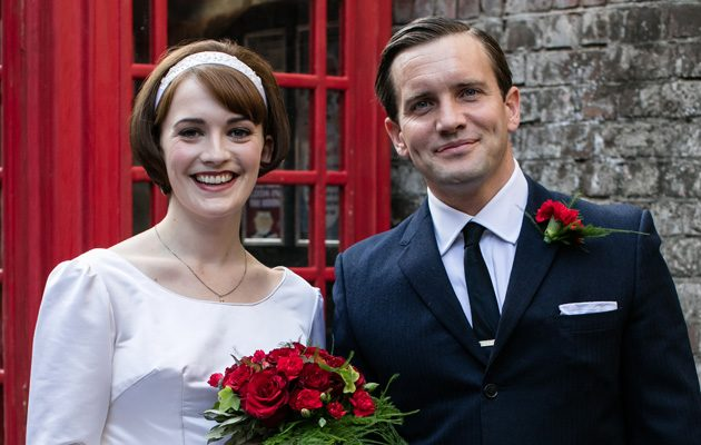 Call The Midwife wedding