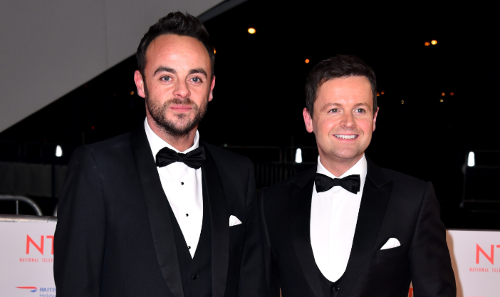 Dec sends Ant birthday message on day of I'm A Celeb launch