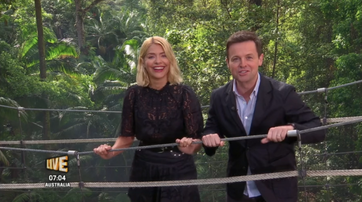 Holly Willoughby's I'm A Celebrity debut