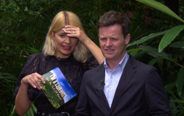 Holly Willoughby and Dec Donnelly on Im a Celeb