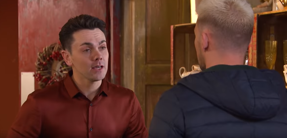 Ray Quinn in Hollyoaks Credit: Lime Pictures/YouTube