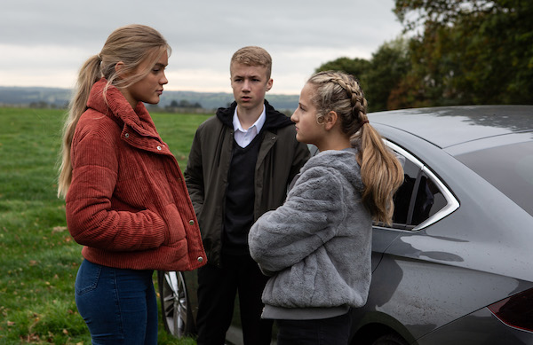Emmerdale SPOILER: Teens joyriding prank causes devastation