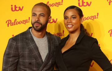 Marvin and Rochelle Humes (Credit: ITV)