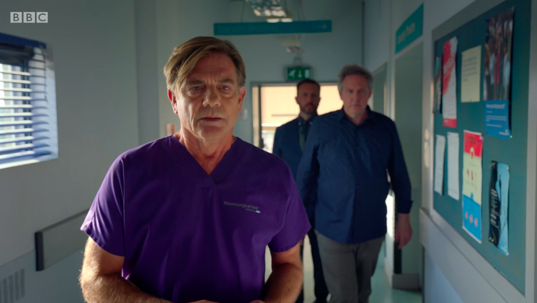 John Michie as Guy Self in Holby