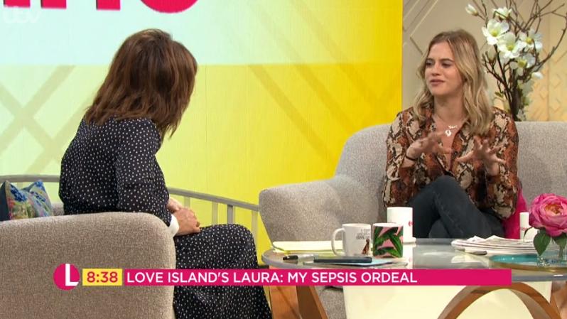 Laura Crane on Lorraine