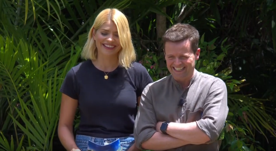 Holly Willoughby and Dec Donnelly on I'm A Celeb