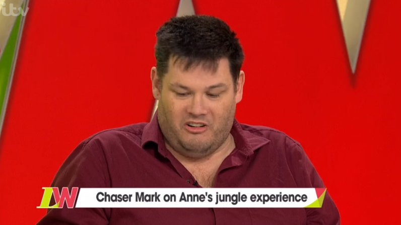 Mark Labbett on I'm A Celebrity