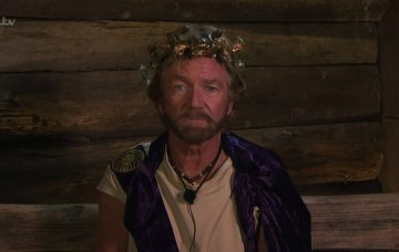 Noel Edmonds in the I'm A Celeb jungle