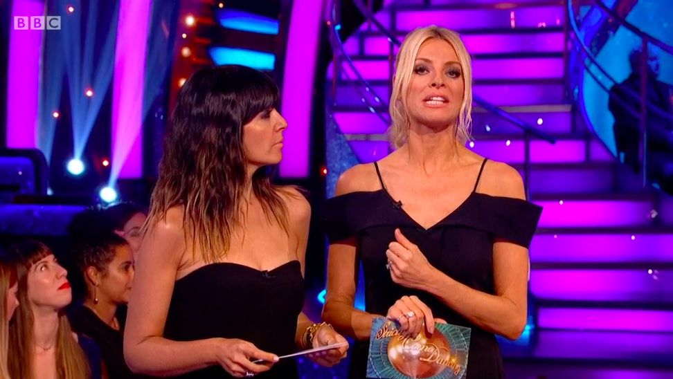 strictly come dancing tess daly claudia winkleman