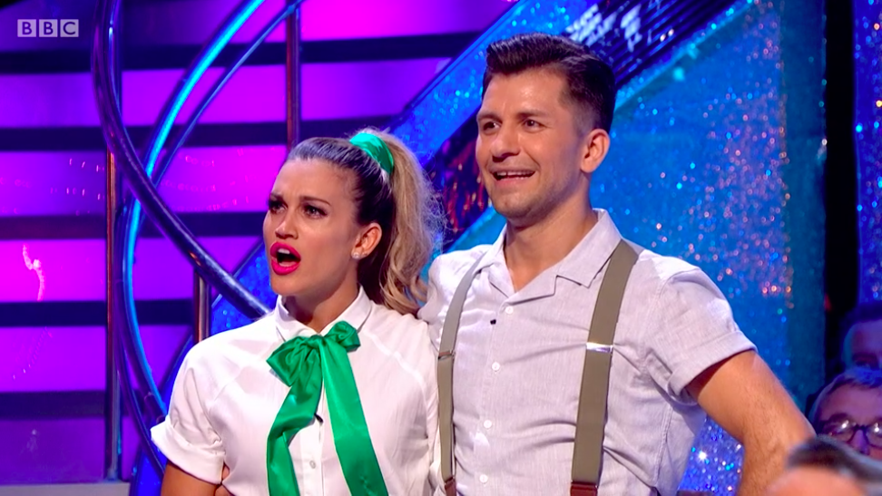 ashley roberts strictly come dancing
