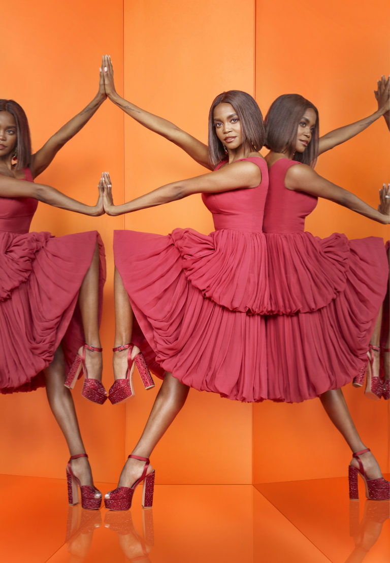 Oti Mabuse is another captain on the show (BBC/Syco/Thames/David Ellis)