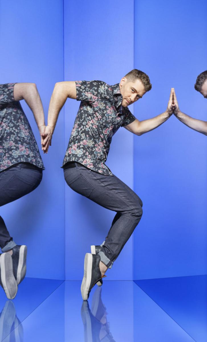 Matthew Morrison from Glee is the third captain (BBC/Syco/Thames/David Ellis)