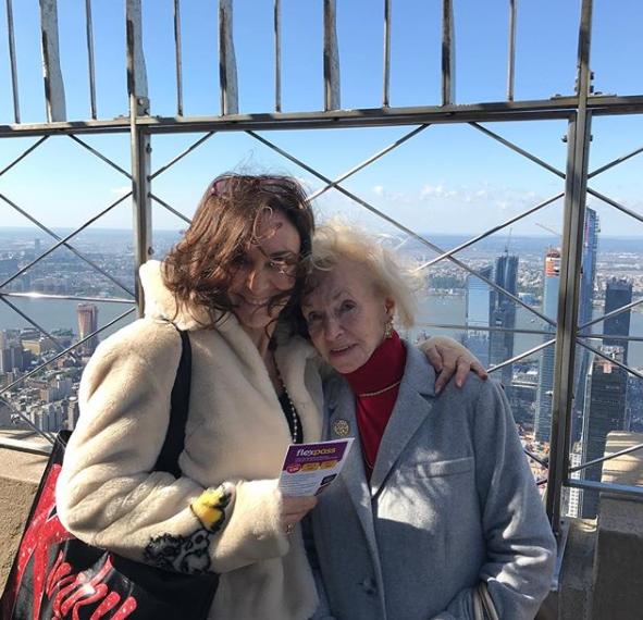 Shirley Ballas and her mum