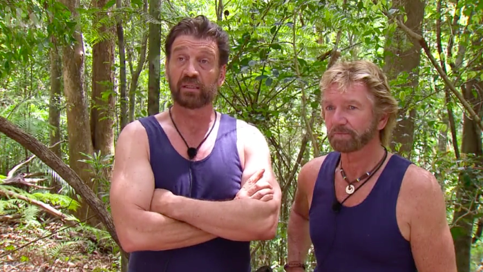 I'm a celeb's Nick Knowles and Noel Edmonds